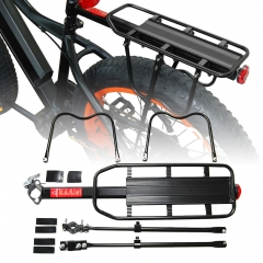 Addmotor Cycling Alloy Bike Rear Rack Carrier Pannier Quick Release Carry